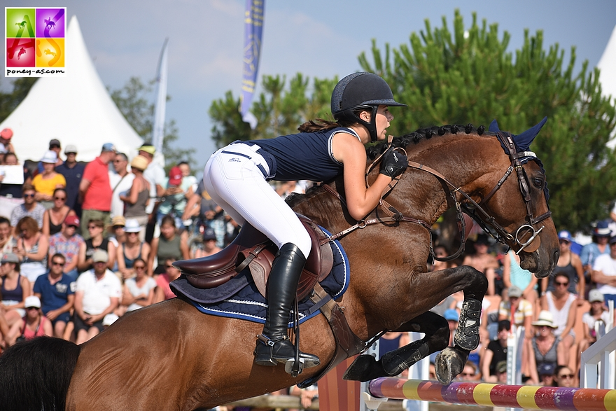 13e : Iris Barbier et Sagami San Joyeux - 8+8+16+18 - ph. Poney As