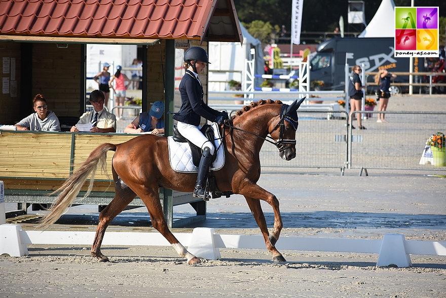 Jade Leborgne et Beltmeyer Linaro - ph. Poney As