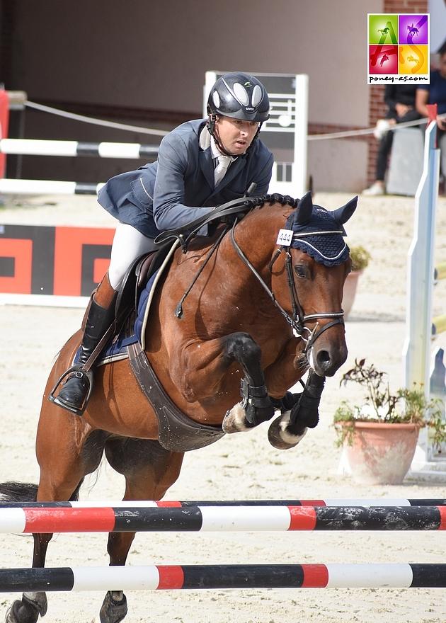13e - Champion d'Ivi Duthot et Benjamin Lemonnier - ph. Poney As