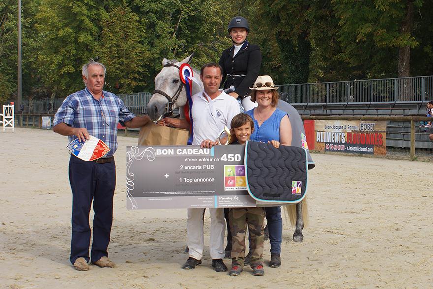 Champion supreme 3 ans montés - FURSY DE LAMELIE - ph. AFPC