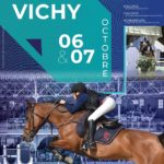 Tournée des As de Vichy - affiche conception Poney As