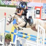 Champion des 6 ans C - Cremell'Aux Lays sous la selle de Sophie Maavrocordato - ph. Poney As