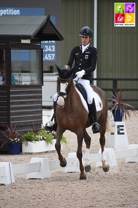 Moritz Treffinger (Ger) et Top Queen H - ph. Poney As