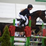 Fiona Tissier (Fra) et Allstar - ph. Poney As