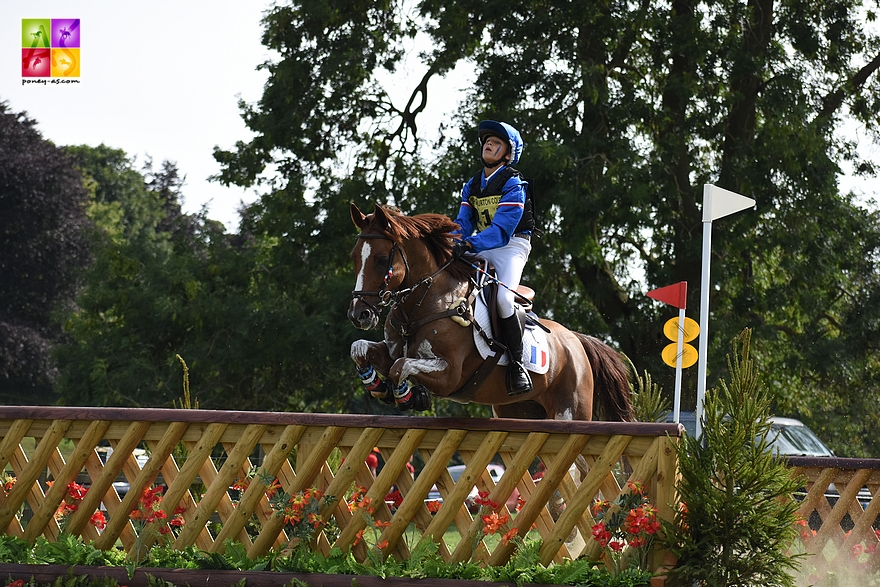 Jonas de Vericourt et Vidock de Berder - ph. Poney As