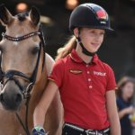 Lucie-Anouk Baumgürtel (Ger) et Zinq Massimilianno FH - ph. Poney As