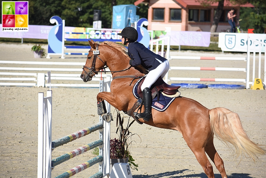 Ninon Castex et Dream Team du Bosquet - ph. Poney As