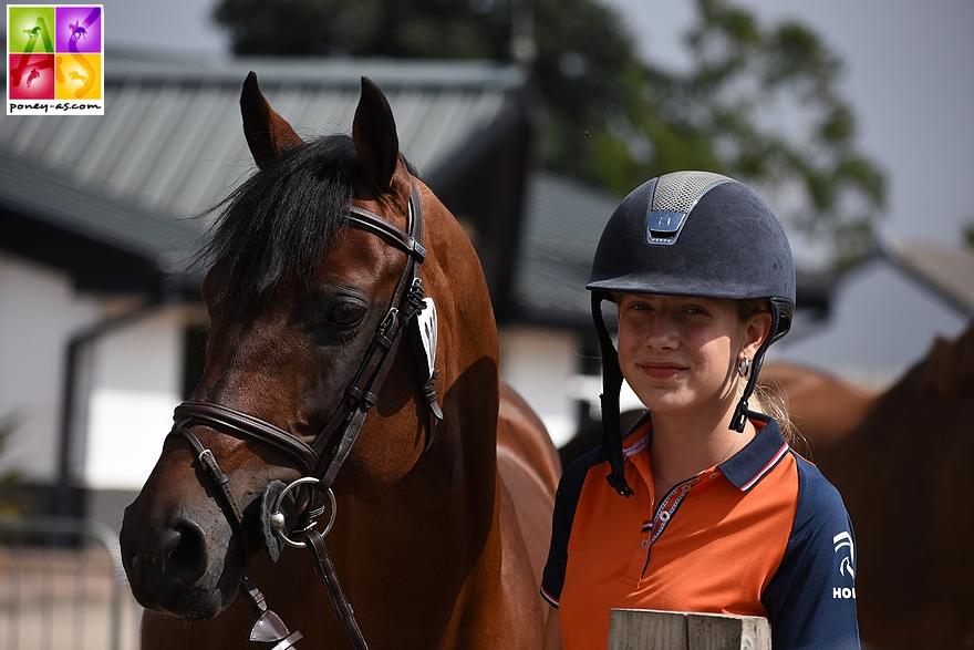 Pam Nieuwenhuis (Ned) et Zeppe van de Ijsseldijk - ph. Poney As
