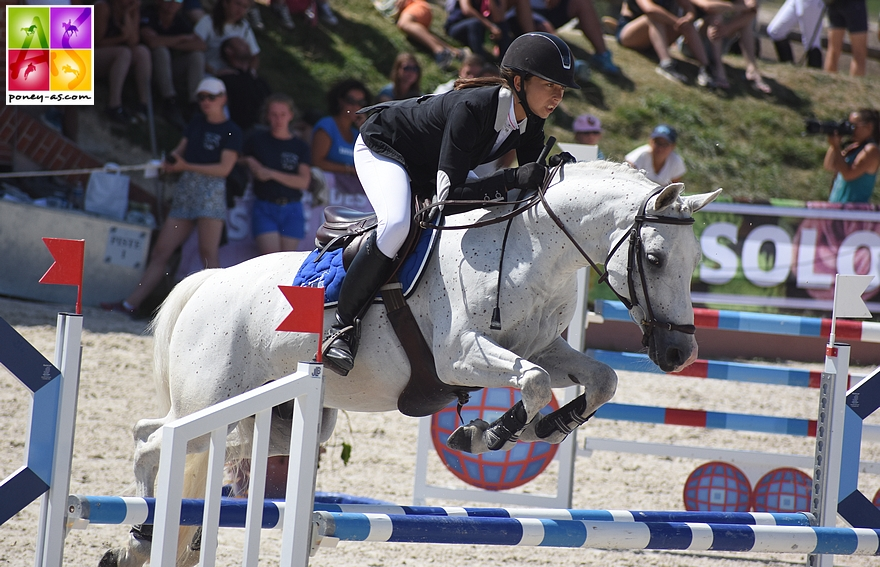12e - Céline Dufour et Blueberry de Lynde - ph. Poney As