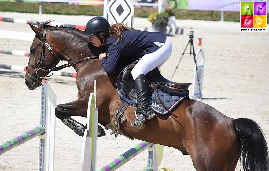 13e - Morgane Saby et Bichma du Rocher - ph. Poney As