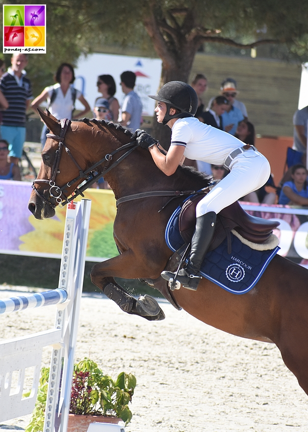 14e - Ninon Castex et Bell'Dora du Mystère - ph. Poney As