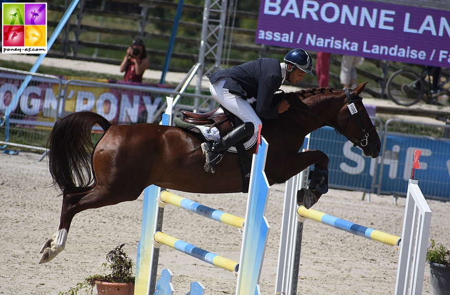 17e - Julien Roussel et Baronne Landai - ph. Poney As