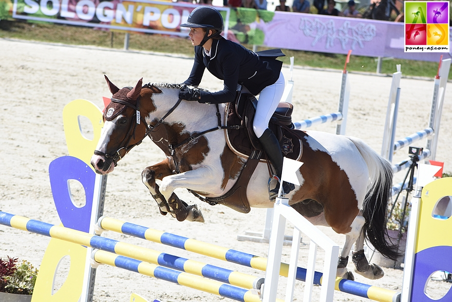 18e - Elise Gueffier et Baladin du Bessey - ph. Poney As