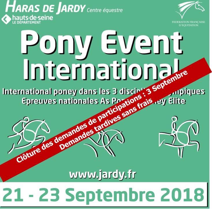 Pony Event International de Jardy