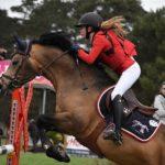 Charlotte et Boticelli dans le Grand Prix des 7 ans du BIP - ph. Poney As
