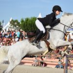 Agathe Cros et Valoa de Chastelaures - ph. Poney As