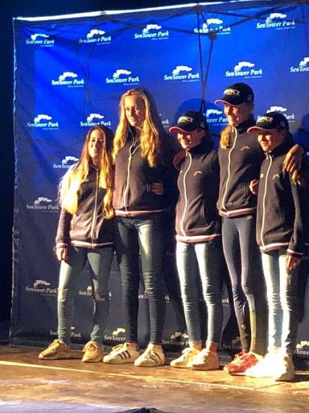 L'équipe de France Poneys sélectionnée pour le FEI Jumping Nations Cup Youth - ph. coll. FFE