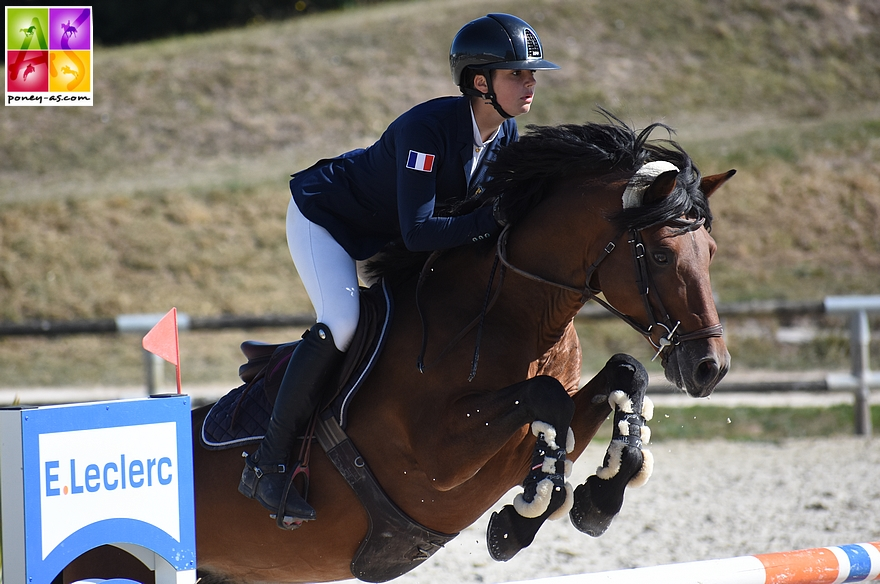 Lou Morali et Ushuaia Eliza Modesty remporte la Vitesse de l'As Elite - ph. Poney As