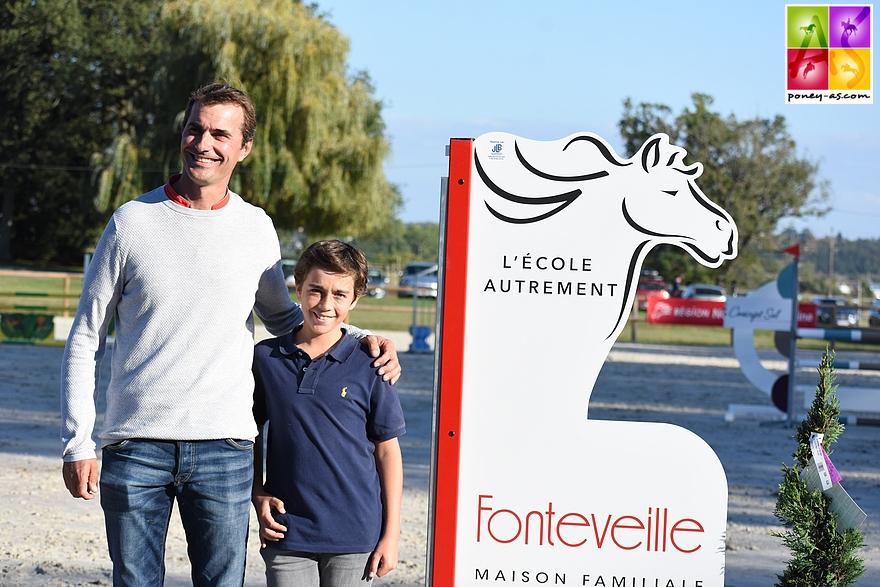 Charles Magaud et Nicolas Delmotte - ph. Poney As