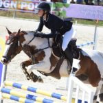 Elise Gueffier et Baladin du Bessey, l'un des 32 couples en lice du Grand Prix du Touquet - ph. Poney As
