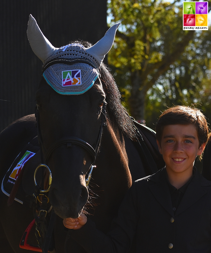 Charles Magaud, ambassadeur Rider School Poney As - ph. Poney As