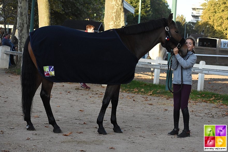Sarah et Tutti à Vichy, début octobre - ph. Poney As