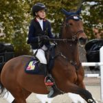 Sarah Desmoules, ambassadrice Poney As Grand Prix CSO, en selle sur Tutti Quanti Joyeuse*du Mystère - ph. Poney As