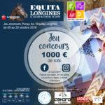 Jeu-concours Poney As / Equita Longines de Lyon