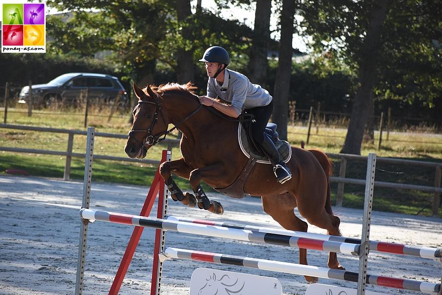Simon Robichon, cavalier de CCE et CSO et valorisateur de jeunes poneys présent sur les finales du Sologn'Pony - ph. Poney As