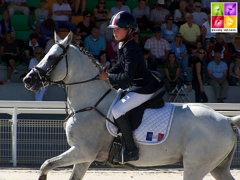 Jimmerdor et Baptiste Lecomte aux championnats d'Europe d'Avenches en 2008 - ph. Poney As