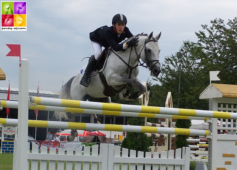 Jimmerdor et Marc Braccagni aux championnats d'Europe de Freudenberg en 2007 - ph. Poney As