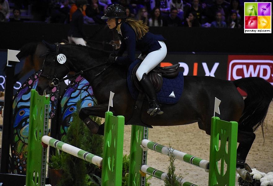 Louise Desmaizieres ET Valma de Fougnard - 2+4 - ph. Poney As