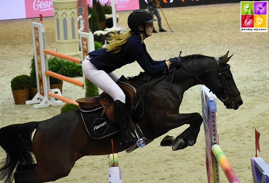 Louna Garo et Alto de Fougnard - 0+4 - ph. Poney As