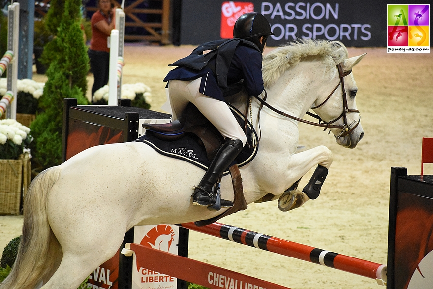 Mathis Vallat et Udix d'Isky - 5+8 - ph. Poney As