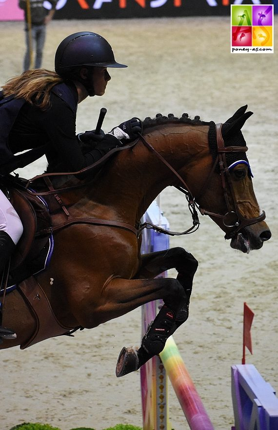 Romane Orhant et Quabar des Monceaux - 4+0 - ph. Poney As
