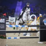 Katie Power et Ghost Rider s'imposent dans la finale du FEI PJT de Mechelen - ph. Temps de Poses