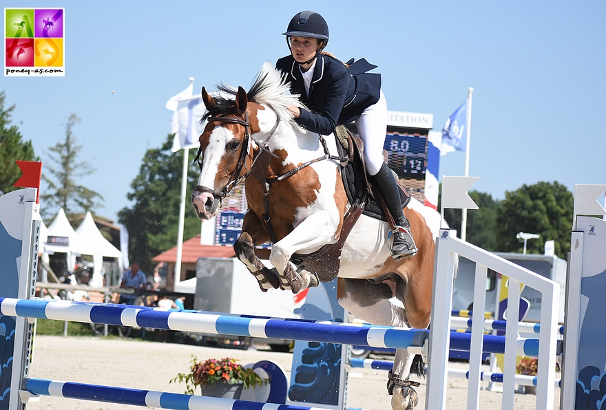 Elise Gueffier et Baladin du Bessey - ph. Poney As