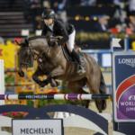 Seamus Hugues-Kennedy et Cuffesgrange Cavalidam, couple victorieux l'an passé - ph. FEI/Dirk Caremans