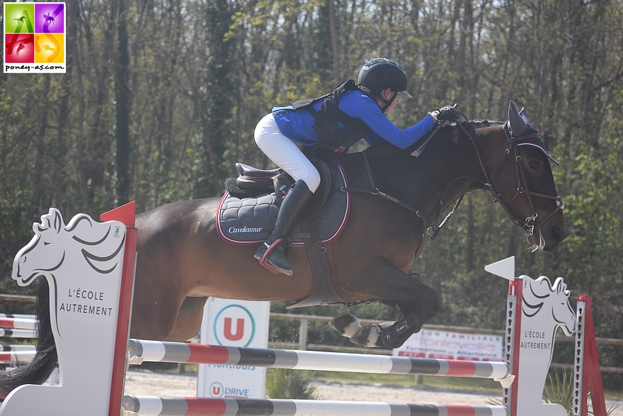 Sarah Desmoules et Austin Joyeuse - ph. Poney As
