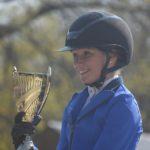 Sarah Desmoules remporte l'As Elite de Montlouis-sur-Loire avec Austin Joyeuse - ph. Poney As