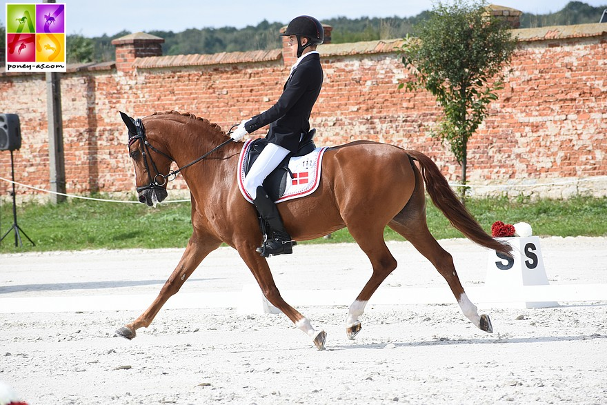 Liva Addy Guldager Nielsen et Adriano B - ph. Poney As