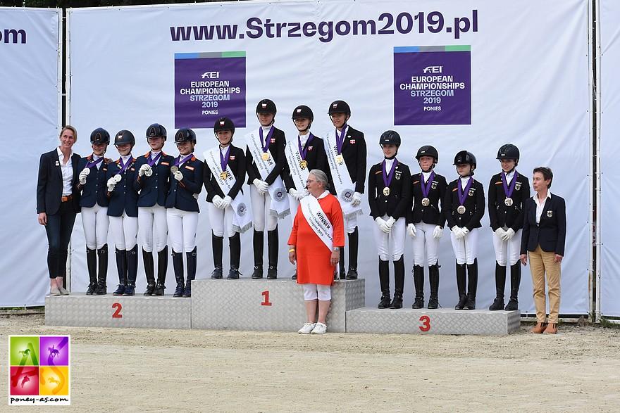 Danemark, Pays-Bas et Allemagne, tel est le podium 2019 - ph. Poney As