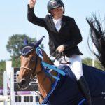 Pas une faute de la saison pour la championne de France des 6 ans D Donna Regina de Twin, montée par Mathieu Laisney - ph. Poney As