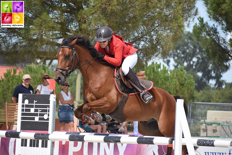 C'est un Crack et Albane le Manh – ph. Poney As