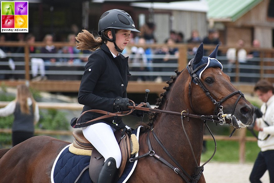 Jeanne Hirel et Vedouz de Nestin s'imposent de nouveau en As Excellence - ph. Poney As