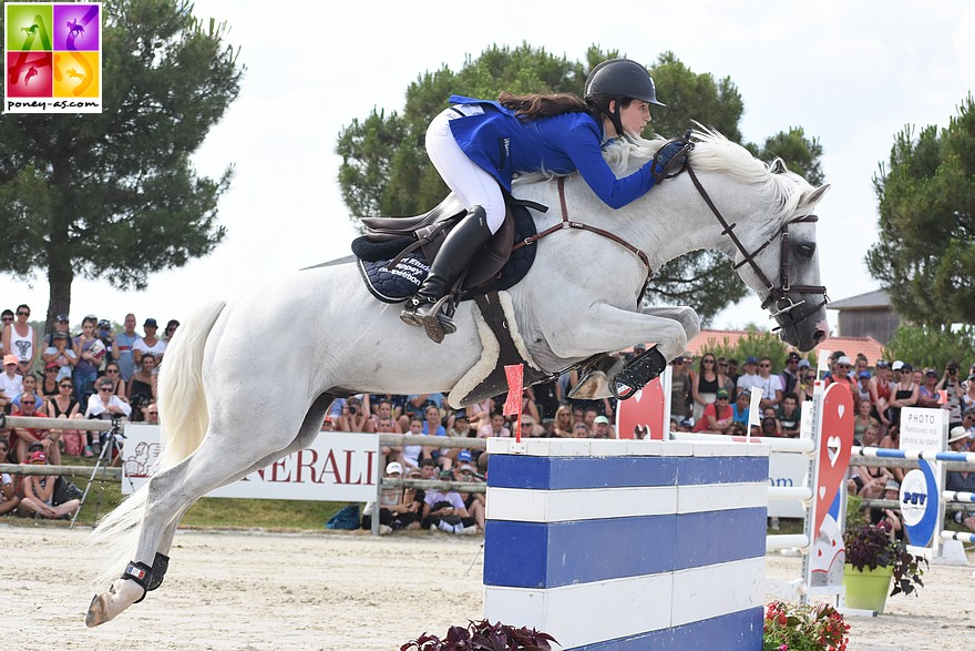 Cannelle Paramucchio et Uhelem de Seille - ph. Poney As