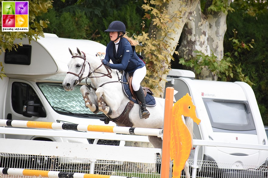 Eponine Saunier et Beauty Rocq remportent le Grand Prix As Excellence - ph. Poney As