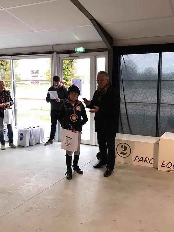 Charles Magaud à la remise des prix de la TDA des Herbiers - ph. Coll. Privée