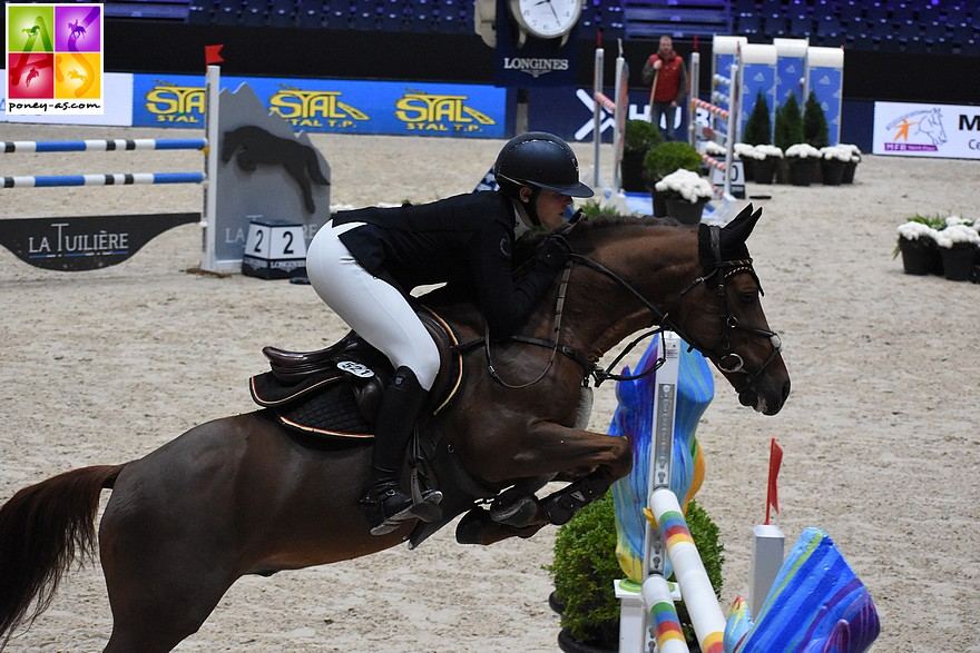 Ann-Sophie Seidl et Berkzicht Rob – ph. Poney As
