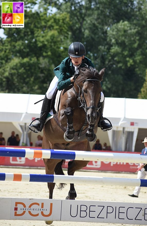 John McEntee et Little Smithe, grands gagnants du Grand Prix international de Stuttgart – ph. Poney As